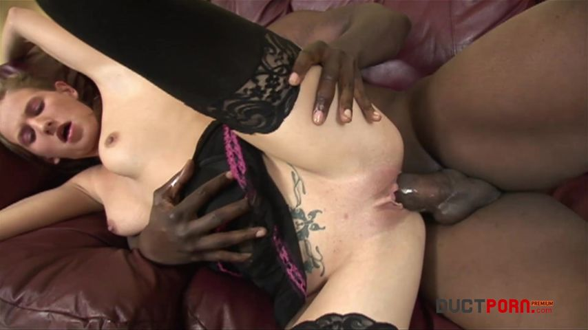 Open legs for black cock